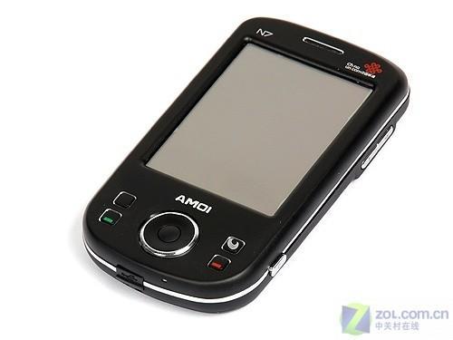 内置GPS芯片 夏新CDMA智能手机N7评测