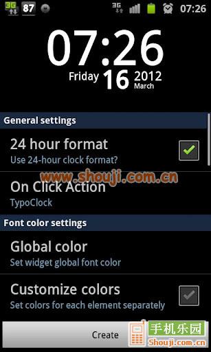 透明时钟 TypoClock Pro v1.1.3截图