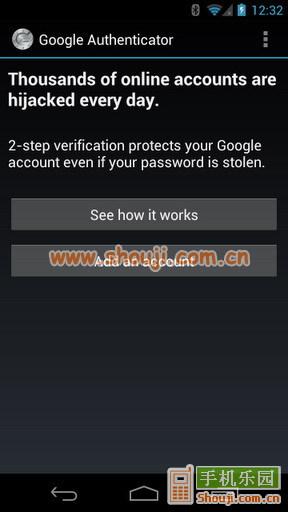 谷歌动态口令 Google Authenticator v5.00截图