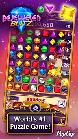 宝石迷阵 闪电风暴 Bejeweled Blitz v.1.3.7截图