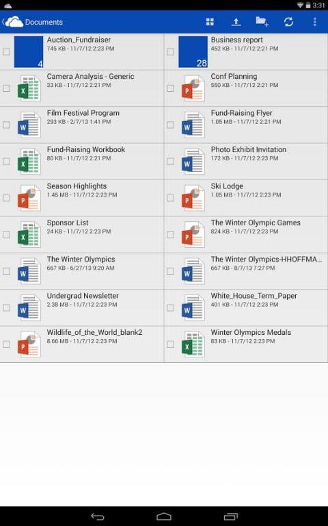微软网盘 OneDrive v5.34.3截图