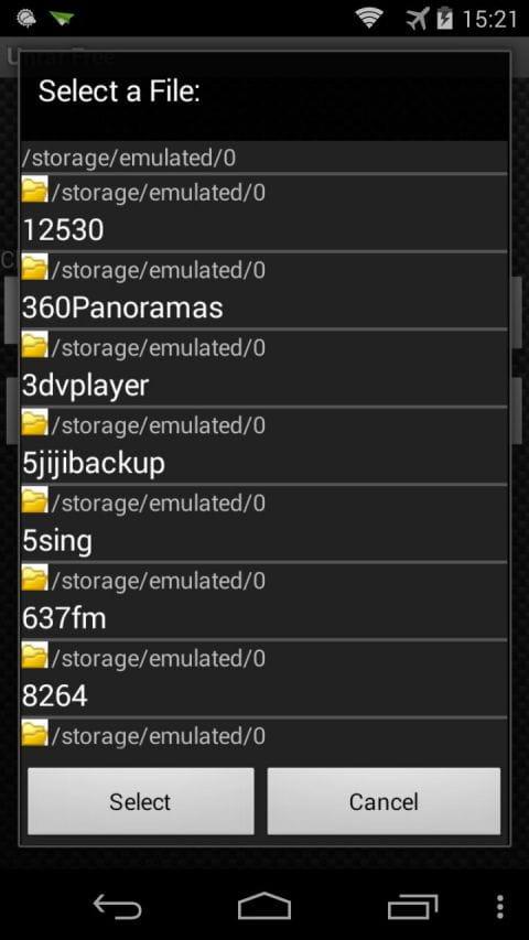 压缩解压 Unrar v7.04.0719.1102截图