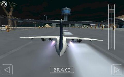 一款飞机模拟驾驶游戏