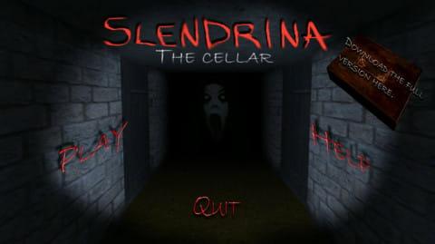 兰德里纳河的地下室 Slendrina The Cellar  v1,2截图