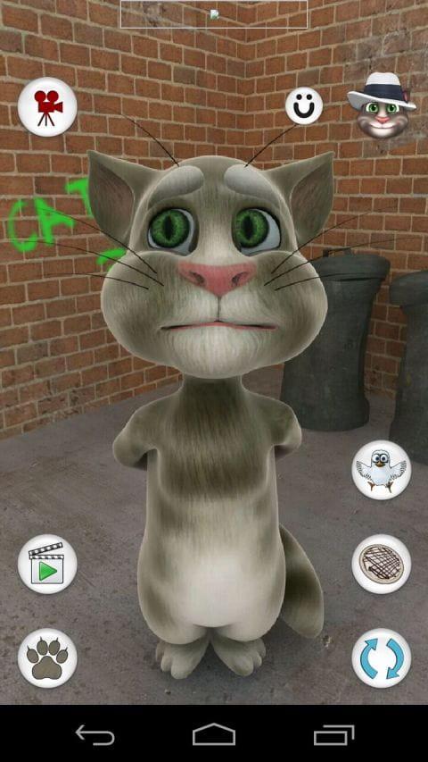 会说话的宠物猫 Talking Tom Cat free v3.3截图