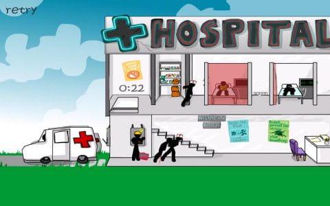 火柴人离奇死亡:医院   Stickman Click Death:Hospital  v1.0.1截图