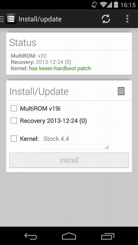 多系统管理 MultiROM Manager v1.188截图