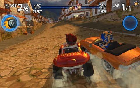 沙滩赛车竞速  修改版 Beach Buggy Racing  v1.2.7截图