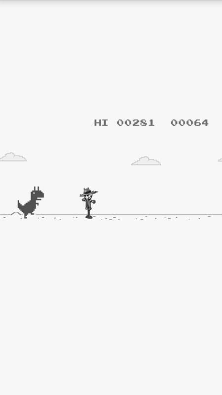 谷歌小恐龙  Flappy TRex  v2.4截图
