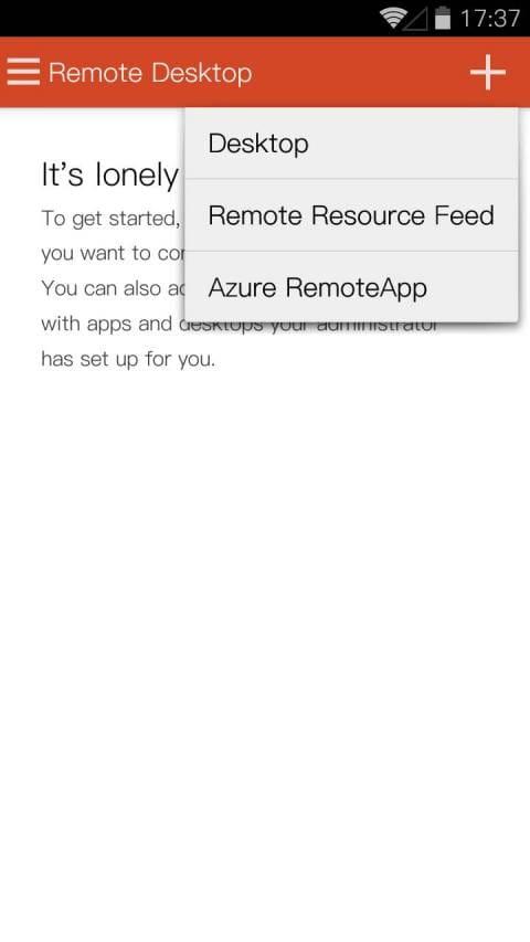 Microsoft Remote Desktop v8.1.71.387截图