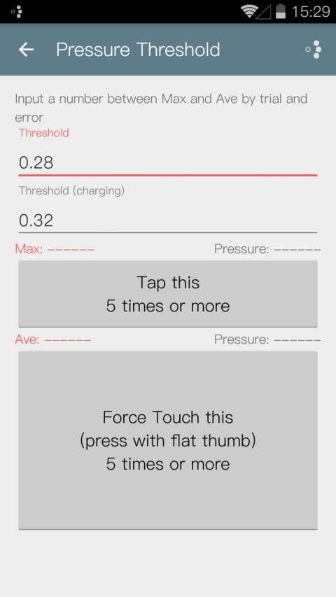 平按快捷键 Force Touch Detector v0.5.6截图