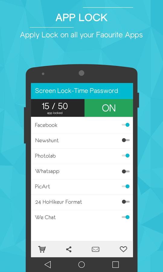 时间锁屏 Screen Lock-Time Password v1.2.5截图
