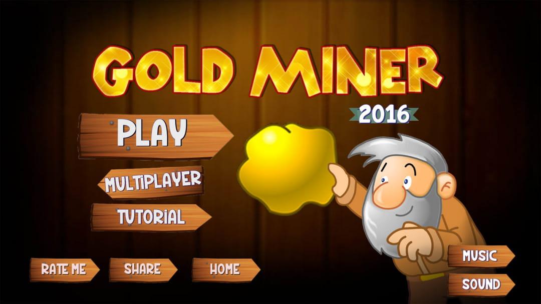 黄金矿工2016  Gold miner 2016: Multiplayer  v1.5截图