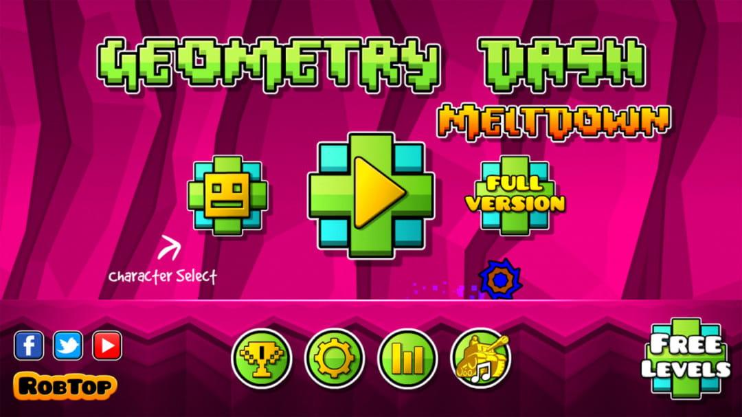 几何冲刺:崩溃 Geometry Dash Meltdown  v1.00截图