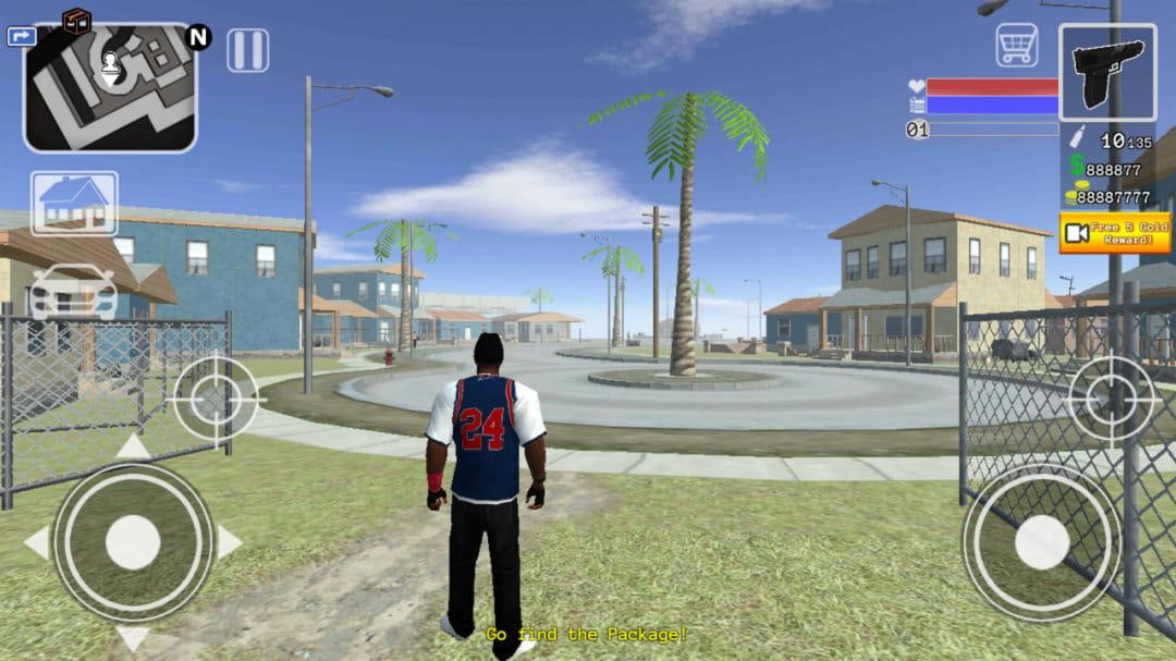 圣安地列斯2  修改版 San Andreas Straight 2 Compton  v1.1截图