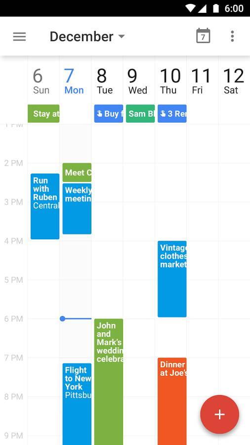谷歌日历 Google Calendar  v6.0.50-265670076-release截图
