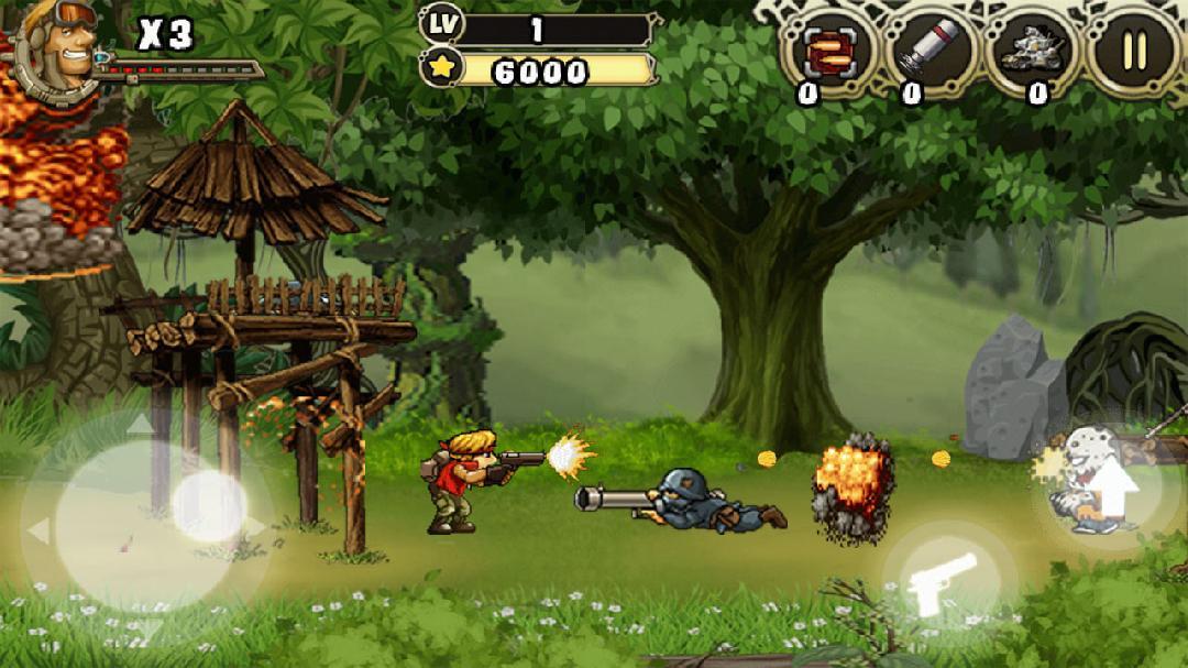 合金子弹:丛林之战    Metal Rambo  v1.1.1图