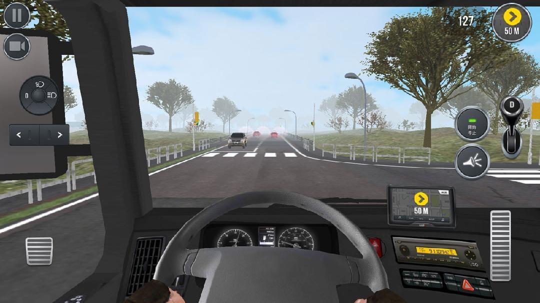 卡车模拟2017   修改版    Truck Simulator 2017    v1.8截图