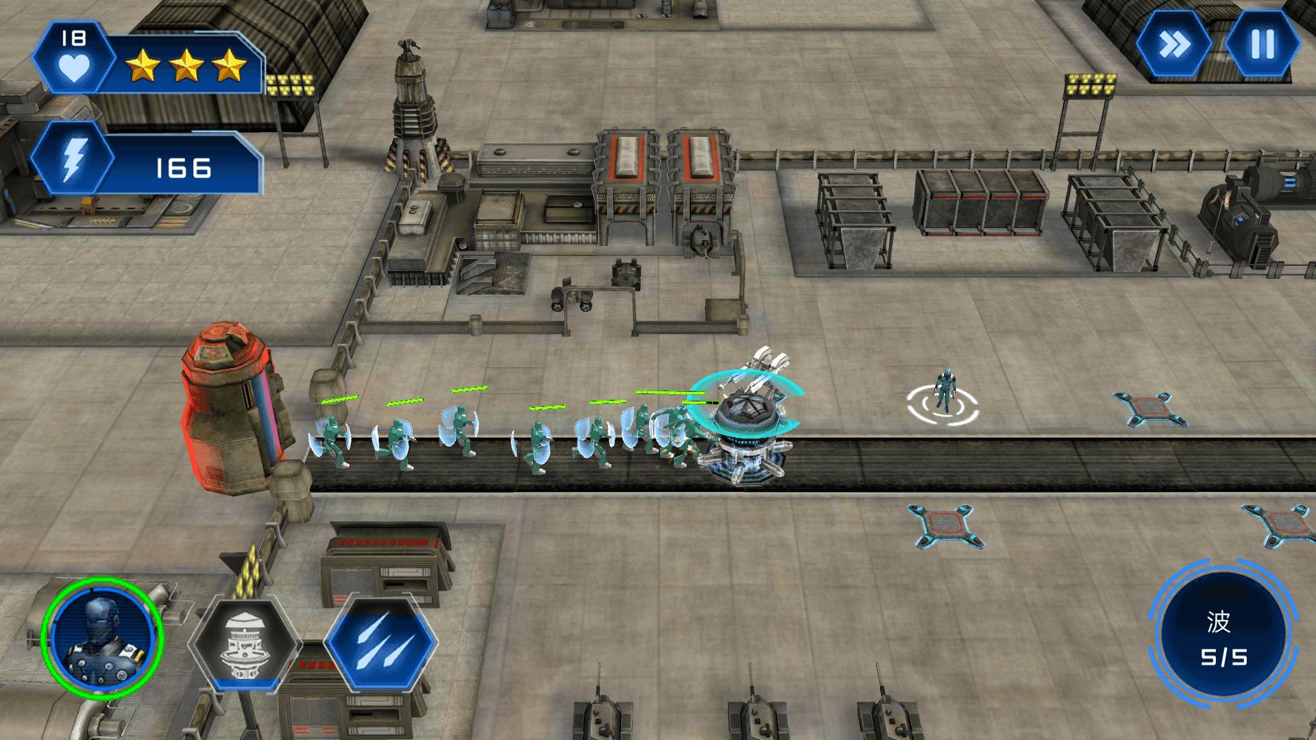 入侵者真实机器人战争汉化版 v1.0图