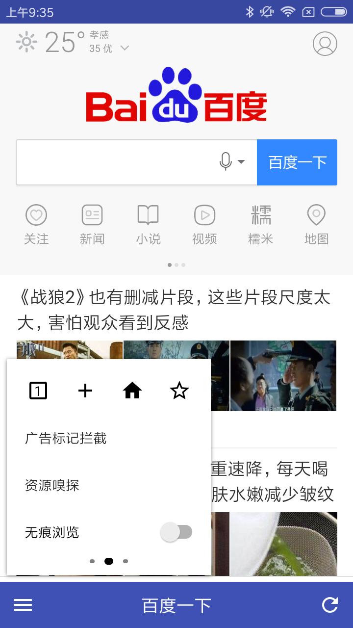 极光浏览器 v1.3.2图