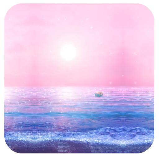 唯美粉色天空-91桌面主题壁纸(美化版)