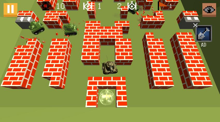 坦克大战3D怎么玩 新手操作攻略分享