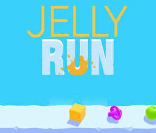 Jelly Run游戏评测:多彩果冻的平台跑酷