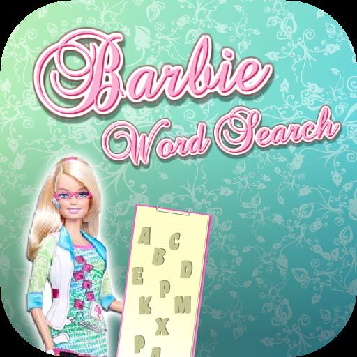 芭比娃娃对孩子单词搜索 v1
