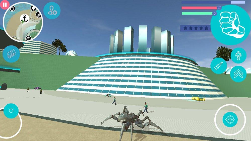 蜘蛛机器人汉化版 v1.1截图