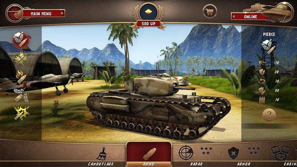 战地霸主全坦克解锁版 v1.2.1截图
