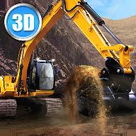 装载挖掘机驾驶3D