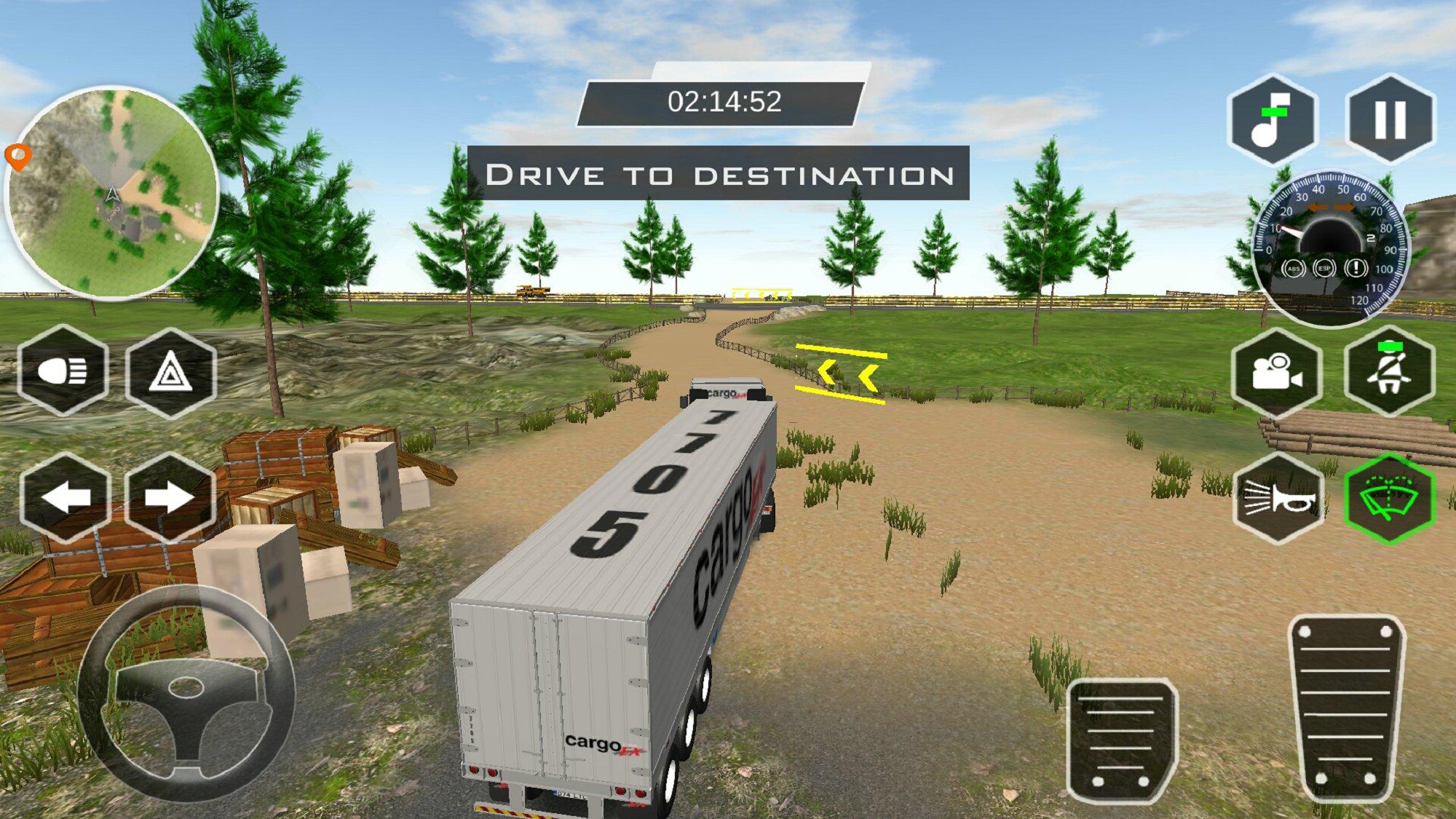 真实卡车模拟器3D v1.0截图