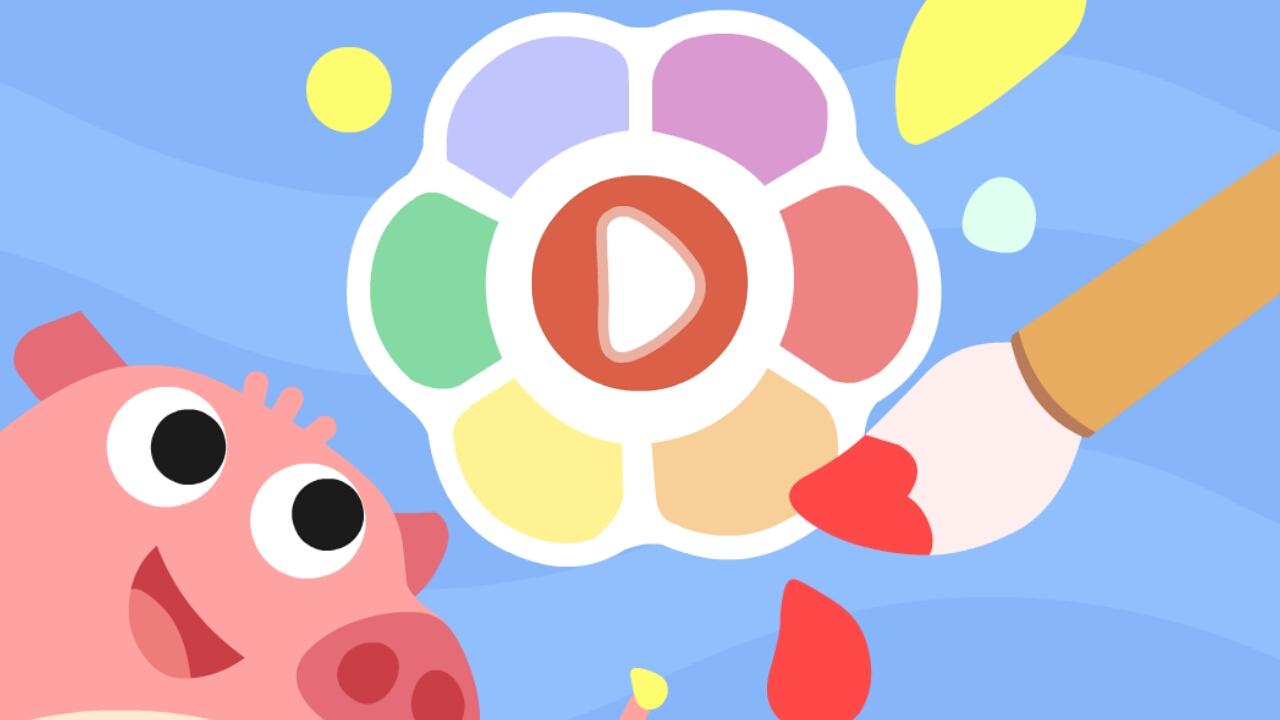 儿童游戏-涂色画画 v3.9.0截图