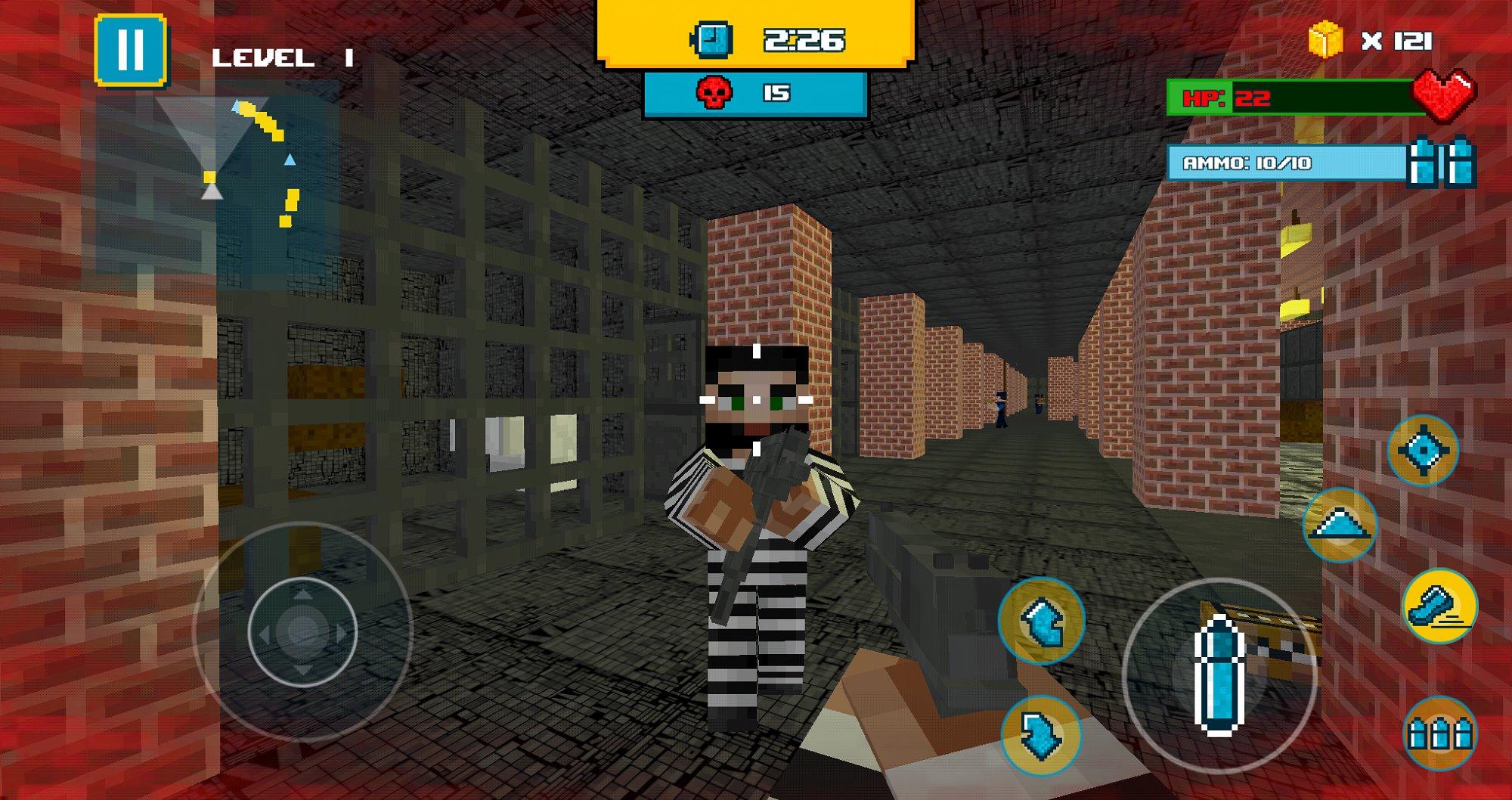 像素警察越狱 v2.1图