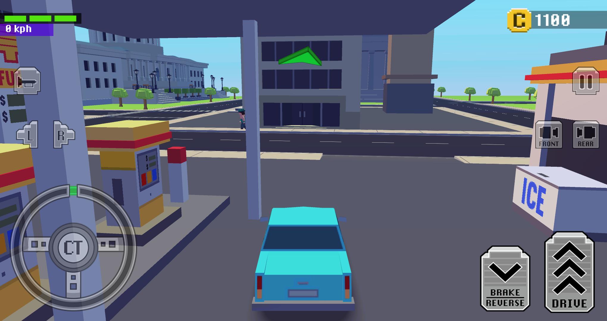 城镇疯狂赛车 v1.0图