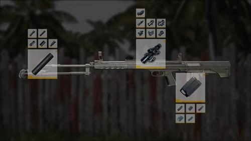 绝地求生刺激战场QBU配件怎么选 QBU狙击枪配件搭配攻略