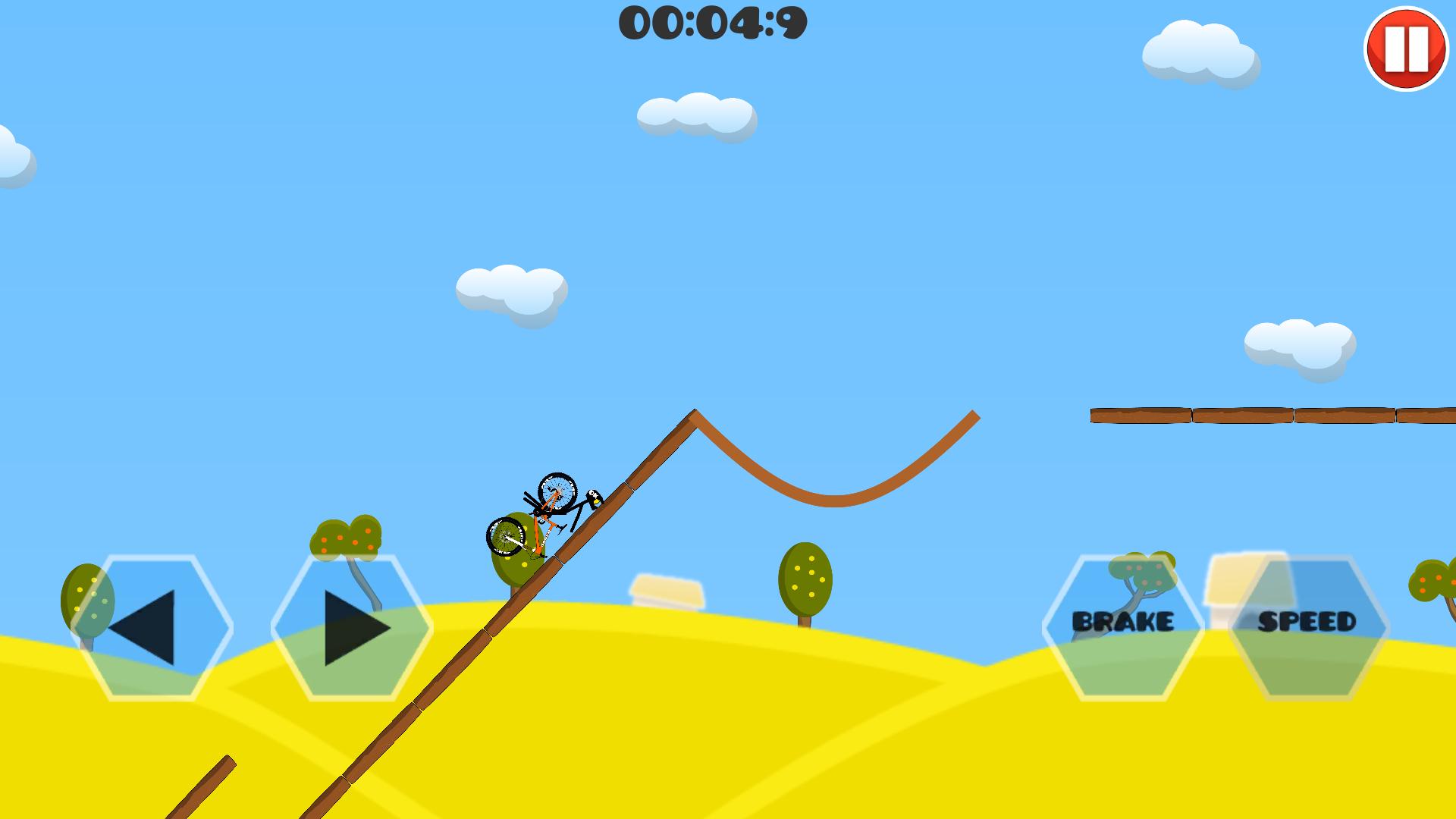 火柴人下坡自行车特技 v1.0截图