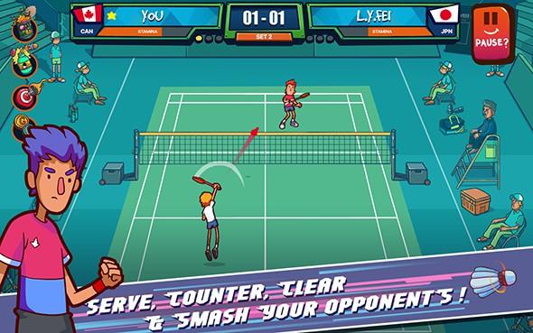 超级羽毛球 v1.4.2截图