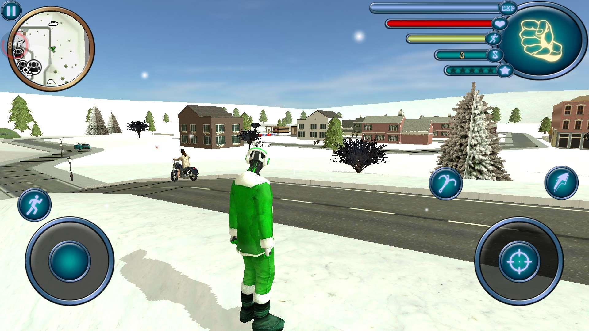 绳索英雄格斗圣诞老人 v1.0截图