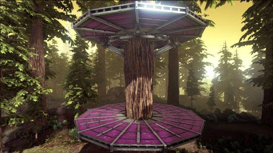 方舟生存进化金属树屋平台怎么用 金属树屋平台制作使用详解