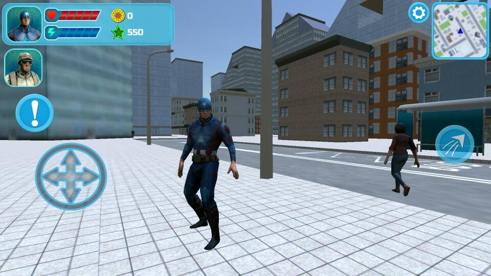 超级英雄美国队长 v3.0.0截图