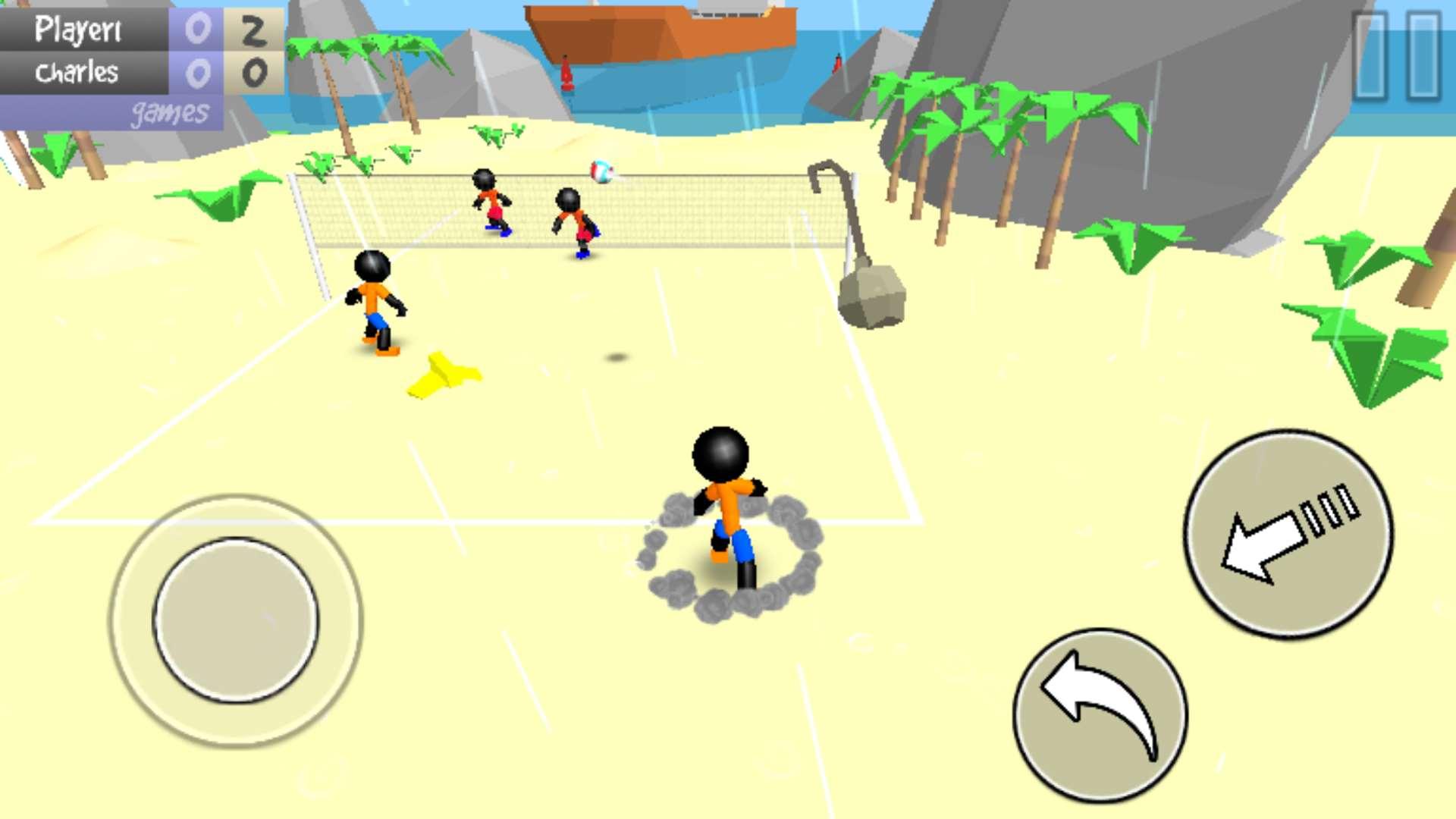 火柴人沙滩排球 v1.03截图