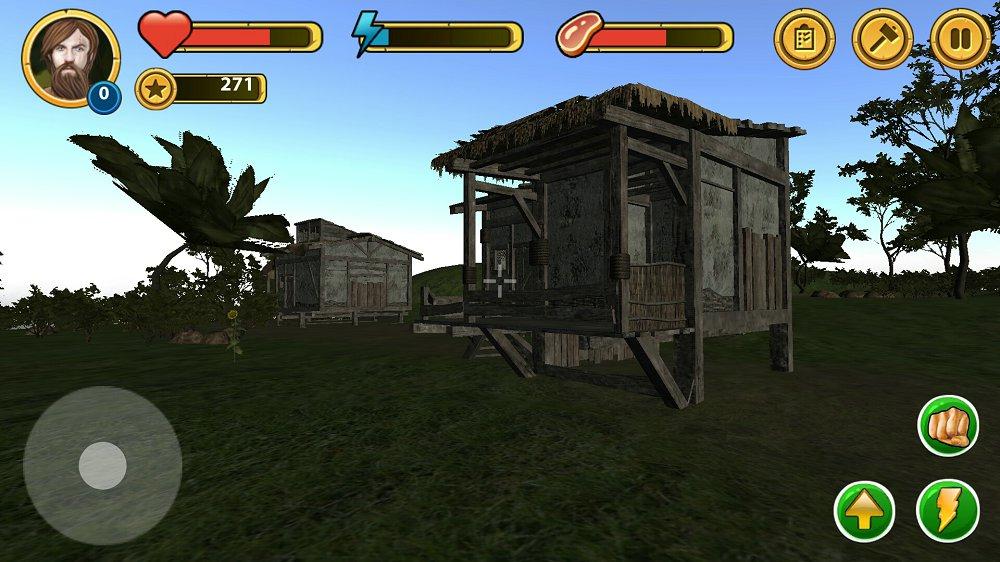 神秘岛生存3D v1.0截图