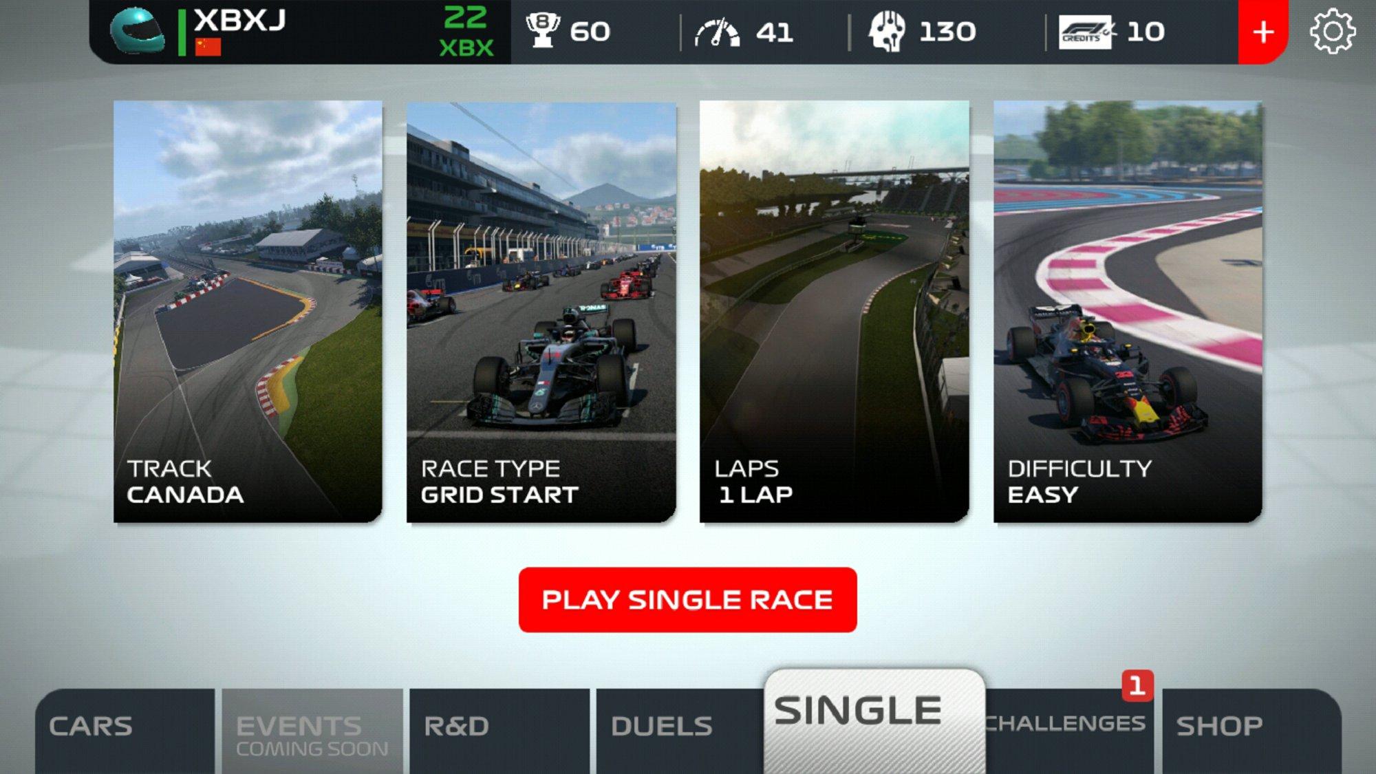 F1移动赛车 v1.4.2截图