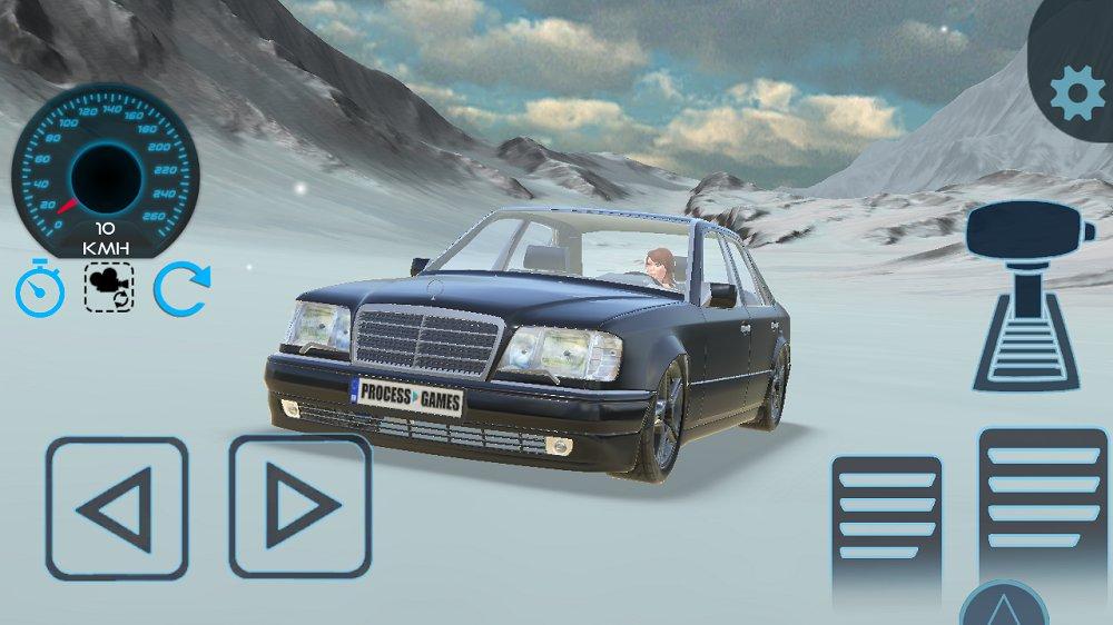 奔驰E500W124漂移模拟器 v1.0图