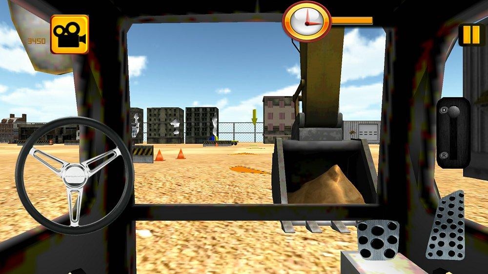 挖掘机3D模拟器 v1.6截图