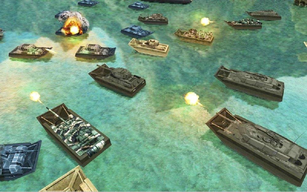 陆军坦克水上战争 v1.8截图