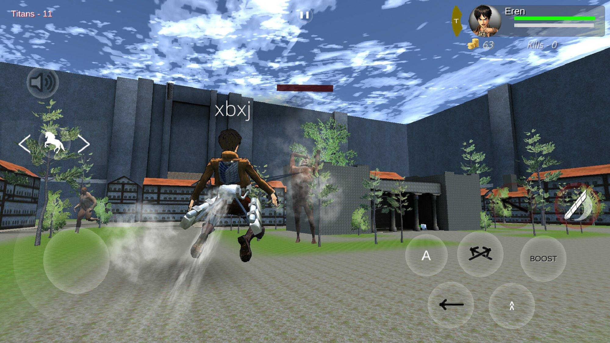 进击的巨人粉丝游戏 v2.7截图