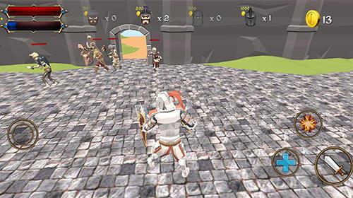 堡垒骑士官方安卓正版 v1.0截图