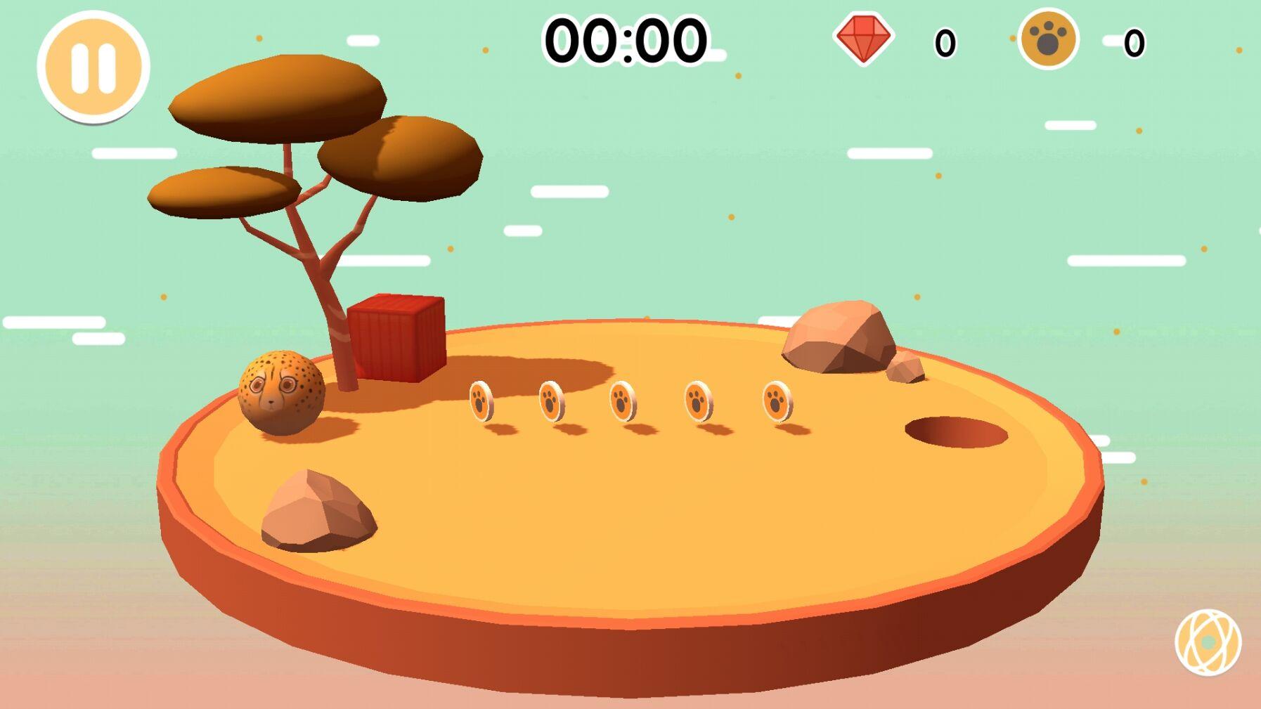 圆滚滚的动物世界官方安卓版 v0.3截图